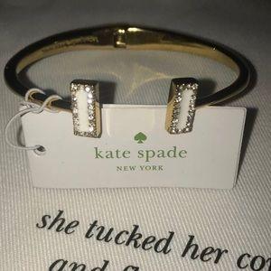 NEW Kate Spade Raising the Bar Cuff Bracelet